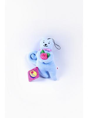 Мягкая игрушка Кот Презент Malvina. Цвет: голубой