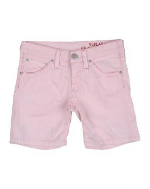 Повседневные шорты REPLAY & SONS. Цвет: розовый