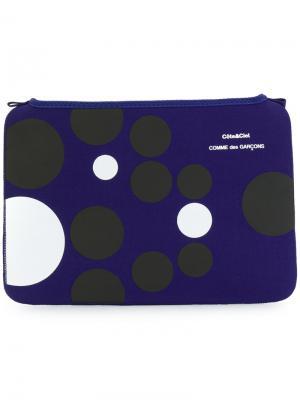 Сумка для ноутбука Macbook Air 11 Comme Des Garçons Wallet. Цвет: синий