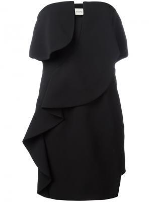 Платье Emini La Mania. Цвет: чёрный