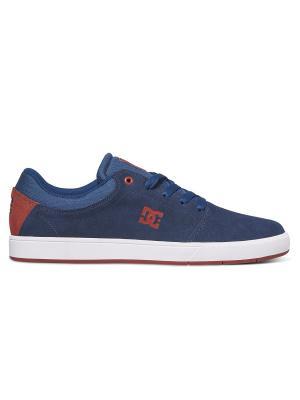Кеды DC Shoes. Цвет: синий, красный