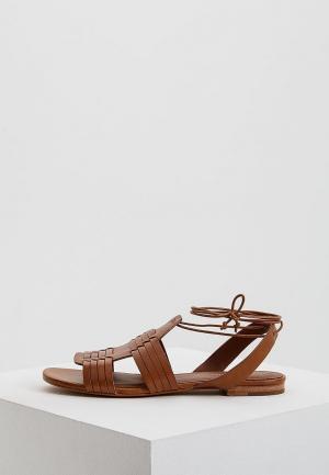 Сандалии Polo Ralph Lauren. Цвет: коричневый