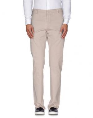 Повседневные брюки REPORTER. Цвет: серый