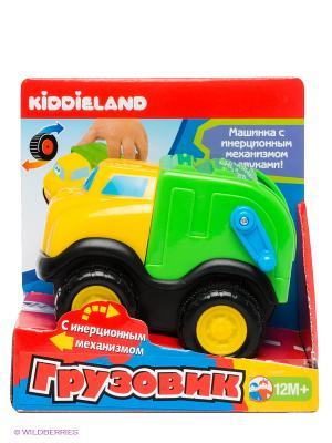 Машинка Мусоровоз Kiddieland. Цвет: зеленый, желтый