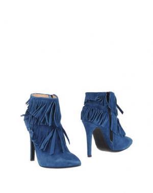 Полусапоги и высокие ботинки OVYE' by CRISTINA LUCCHI. Цвет: синий