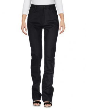 Джинсовые брюки KOSTAS MURKUDIS. Цвет: черный
