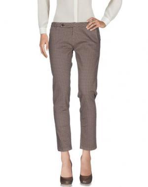 Повседневные брюки ALYSI. Цвет: хаки