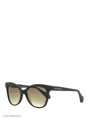 Солнцезащитные очки VW 870S 01 Vivienne Westwood. Цвет: черный