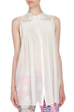 Блуза Tsumori Chisato. Цвет: белый