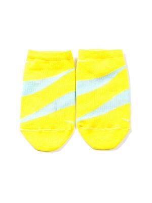 Носки Mark Formelle. Цвет: желтый, бирюзовый, розовый