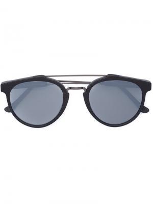 Солнцезащитные очки GIAGUARO BLACK MATTE ZERO Retrosuperfuture. Цвет: серый