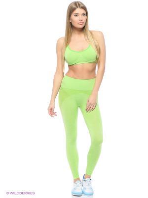 Спортивный костюм EZE. Цвет: салатовый