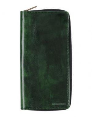 Чехол для документов DSQUARED2. Цвет: зеленый