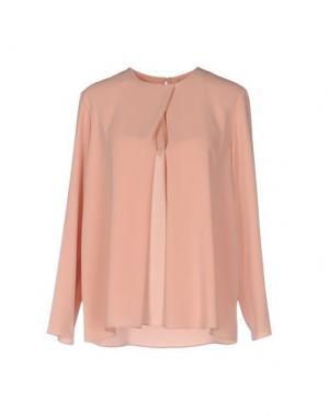 Блузка TARA JARMON. Цвет: телесный