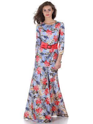 Платье OLIVEGREY. Цвет: сиреневый, красный
