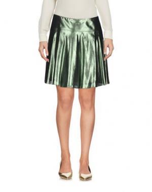 Мини-юбка MAURO GRIFONI. Цвет: зеленый