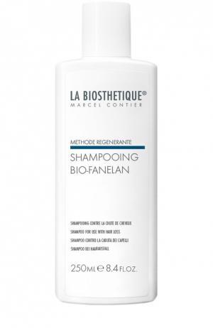 Мягкий очищающий шампунь, препятствующий выпадению волос La Biosthetique. Цвет: бесцветный