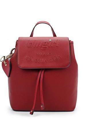 Рюкзак Blugirl. Цвет: красный