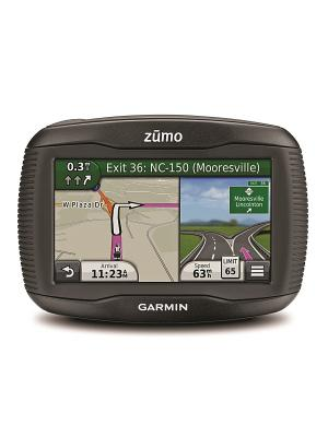 Навигатор для мотоцикла Zumo 390 GARMIN. Цвет: черный