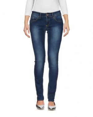 Джинсовые брюки SUERTE. Цвет: синий