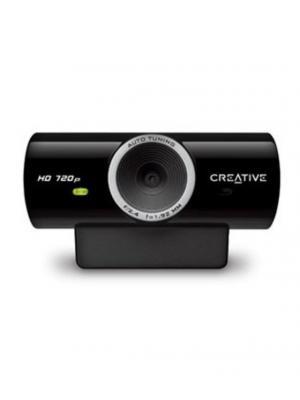 Камера Web Creative Live! Cam Sync HD черный 3.7Mpix USB2.0 с микрофоном. Цвет: черный