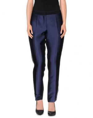 Повседневные брюки AQUILANO-RIMONDI. Цвет: темно-синий