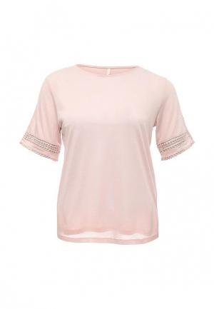 Футболка Baon. Цвет: розовый