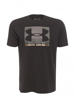 Футболка спортивная Under Armour. Цвет: черный