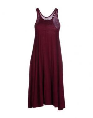 Платье до колена MADELEINE THOMPSON. Цвет: пурпурный