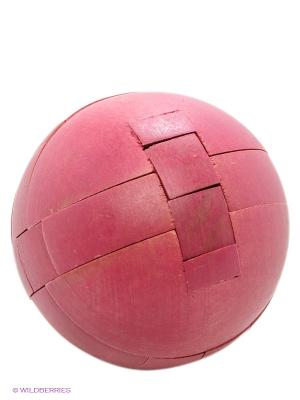 Деревянная игрушка-головоломка Шар FRIDOLIN. Цвет: малиновый