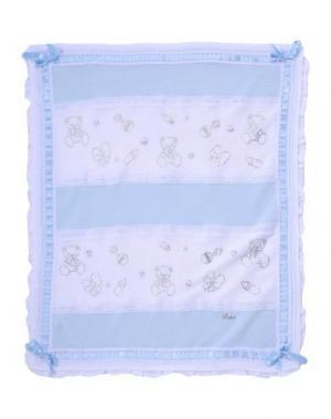 Одеяльце для младенцев LADIA. Цвет: небесно-голубой