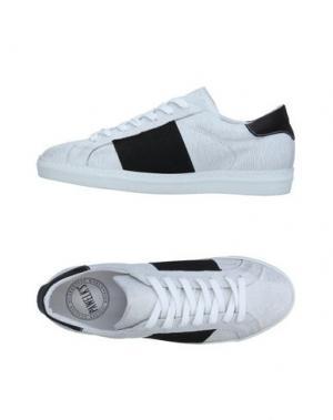 Низкие кеды и кроссовки PAWELK'S. Цвет: белый