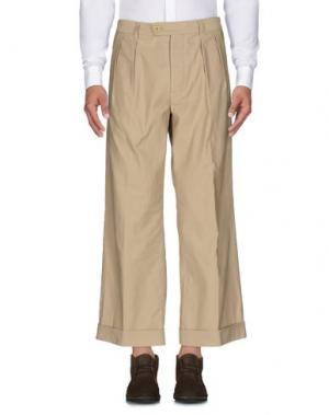Повседневные брюки TS(S). Цвет: песочный