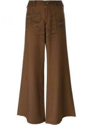 Брюки JPG by Gaultier Jean Paul Vintage. Цвет: коричневый