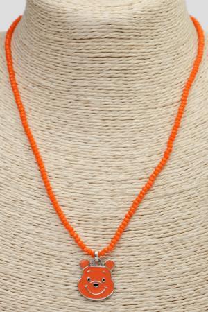 Кулон SOFIPOLI. Цвет: оранжевый