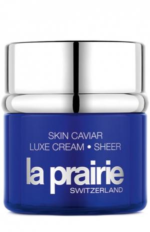 Крем для лица Люкс с икорным экстрактом La Prairie. Цвет: бесцветный