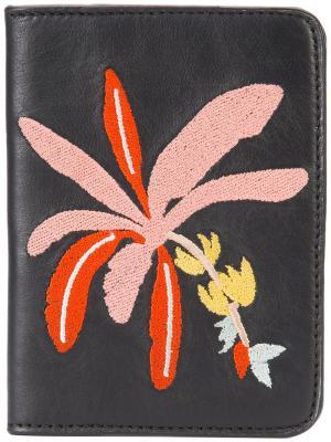Обложка для паспорта Banana Tree Lizzie Fortunato Jewels. Цвет: чёрный