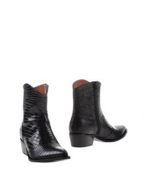 Полусапоги и высокие ботинки F.LLI BRUGLIA. Цвет: темно-синий