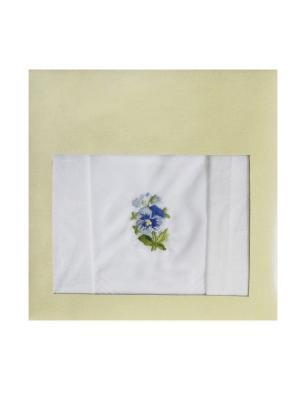 Платки носовые ZLATA KORUNKA. Цвет: белый, фиолетовый