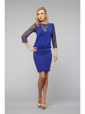 Блузка KATA BINSKA. Цвет: синий