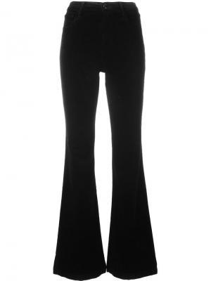 Расклешенные брюки Maria J Brand. Цвет: чёрный