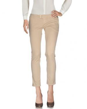 Повседневные брюки ATELIER FIXDESIGN. Цвет: бежевый