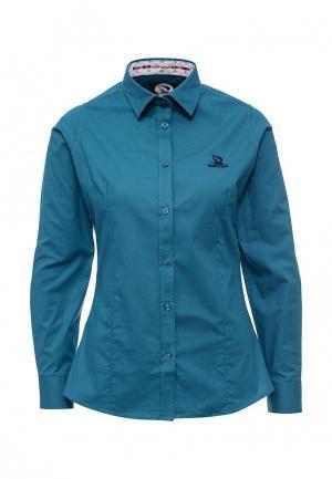 Рубашка Giorgio Di Mare. Цвет: бирюзовый