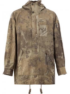 Куртка-ветровка Ziggy Chen. Цвет: многоцветный