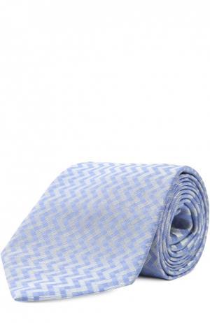 Галстук Fabric Frontline. Цвет: голубой