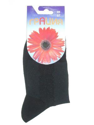 Носки женские М 1074 Грация. Цвет: черный