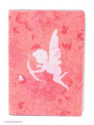 Обложка для автодокументов Амурчик Mitya Veselkov. Цвет: розовый