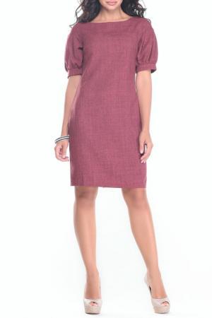 Платье MAURINI. Цвет: светло-сливовый