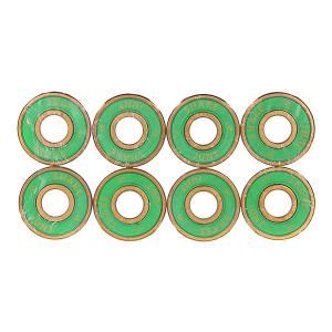 Подшипники для скейтборда  Abec 7 Bearings Yellow/Green Shake Junt. Цвет: желтый,зеленый