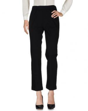 Повседневные брюки SUOLI. Цвет: черный